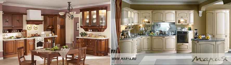 кухонные гарнитуры Мария