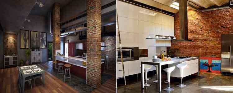 кухни лофт4