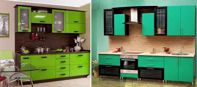 зелёные кухни