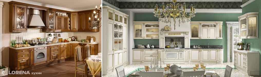 кухни Лорена классика