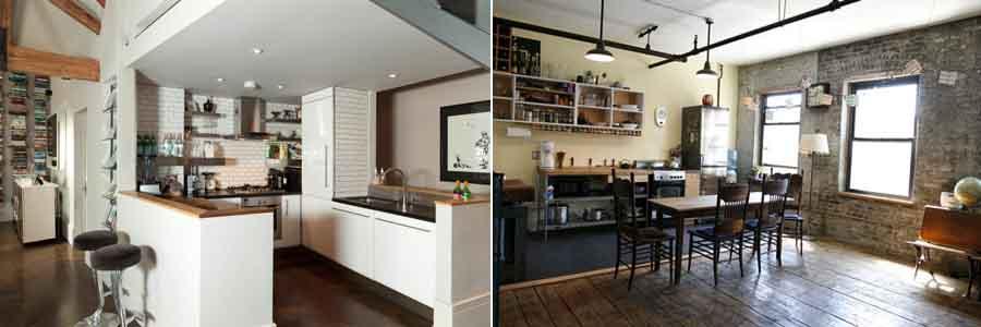 кухни лофт5