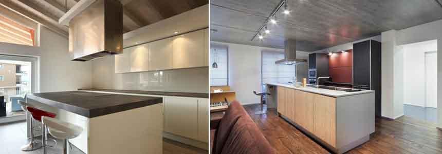 кухни лофт6