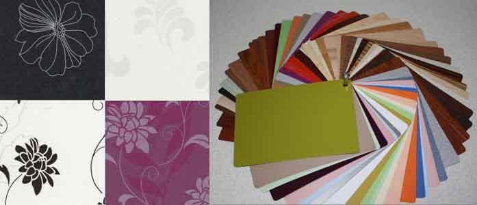 цветовая гамма плёночных фасадов