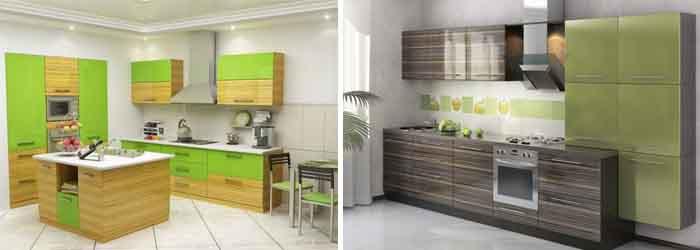 зелёный с древесными оттенками