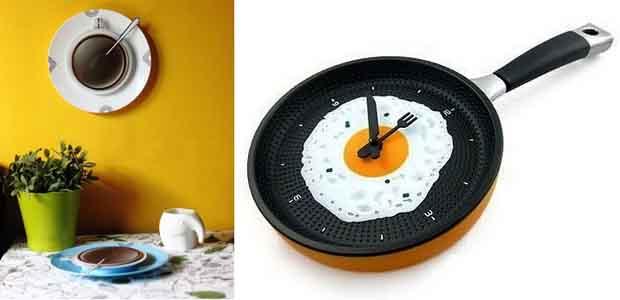 необычные кухонные часы