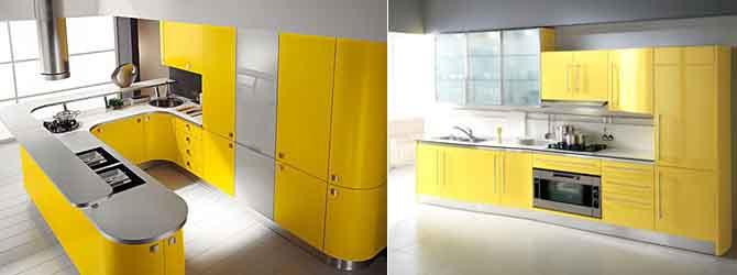 жёлтый с серым