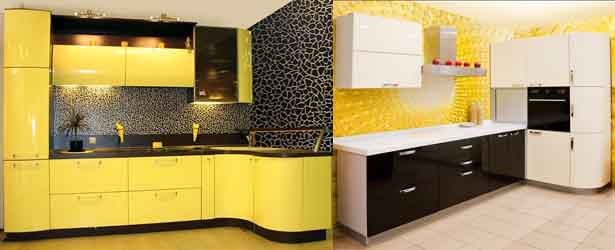жёлтый с чёрным