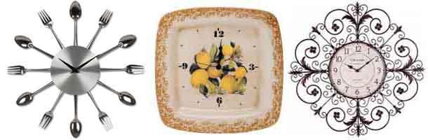 оригинальные кухонные часы