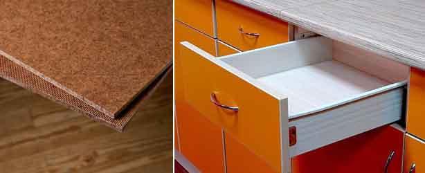 материалы, используемые для изготовления мебели, ДВП