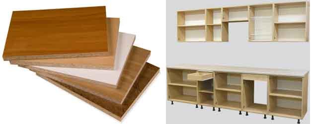 материалы, используемые для изготовления мебели, ЛДСП