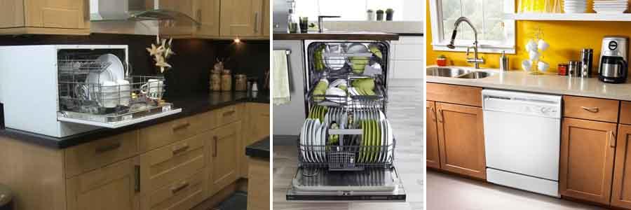 габариты посудомоечной машины