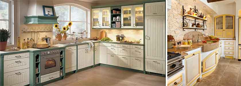 прованский стиль на кухне