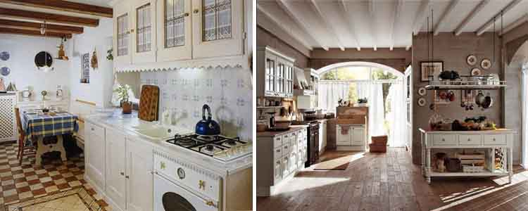 интерьер кухни в стиле прованс8