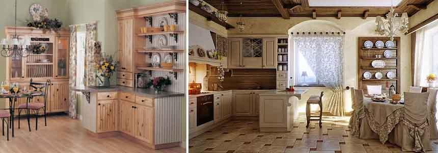 кухня в стиле прованс3