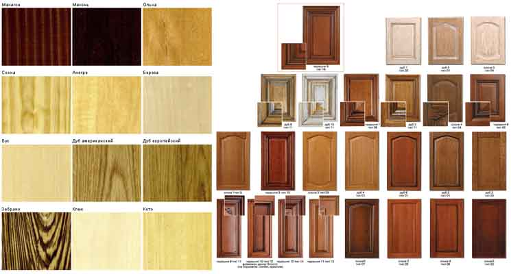 древесина для фасадов