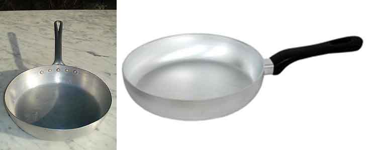алюминиевая сковорода