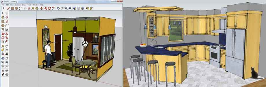программа конструктор кухни гугл скетчап