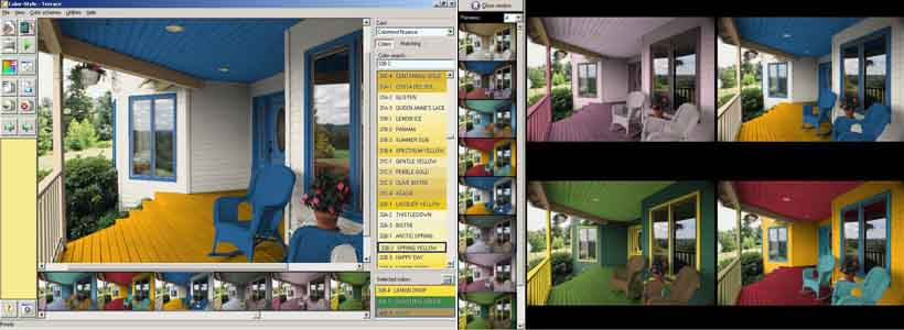 программа конструктор кухни колор стайл студио