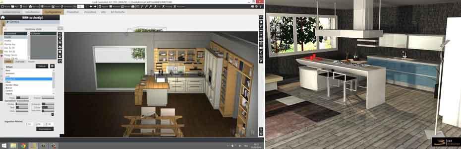 программа конструктор кухни 3кад