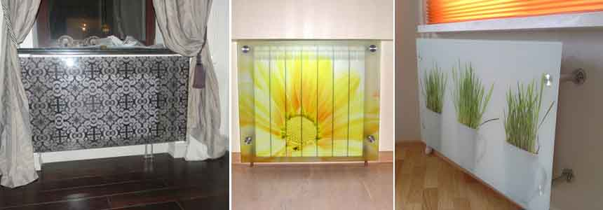 экраны для батарей из стекла