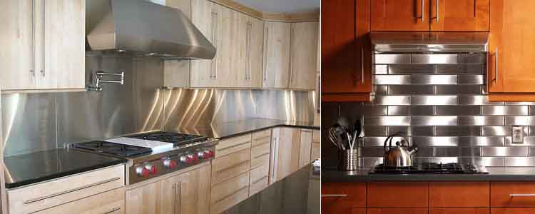 металлический кухонный фартук