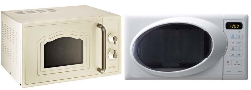 управление микроволновой печью