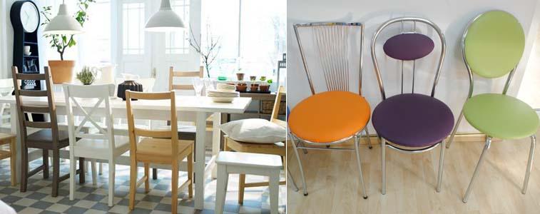 выбор кухонных стульев