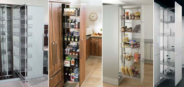 выдвижная система для кухонных пеналов