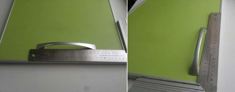 горизонтальная и вертикальная установка ручек