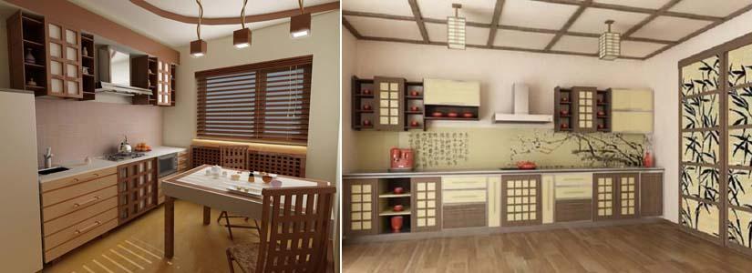 кухня японский стиль