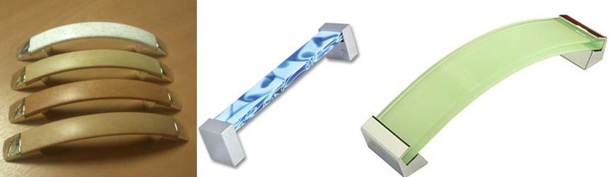 пластиковые фасадные ручки