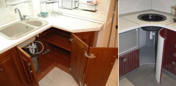 Угловой кухонный гарнитур своими руками видео