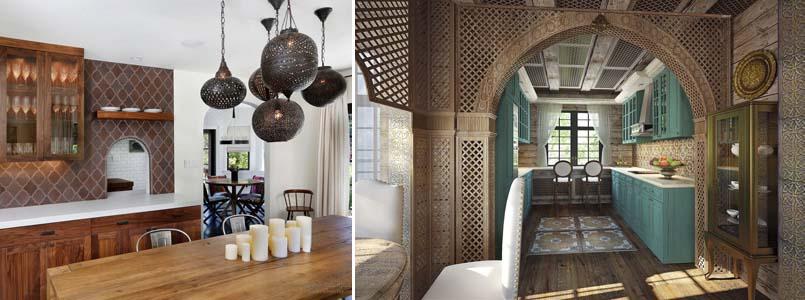 дизайн арабской кухни