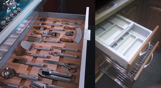 органайзеры для столовых приборов