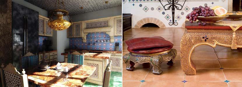 арабский стиль на кухне
