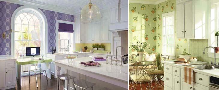 выбор кухонных обоев