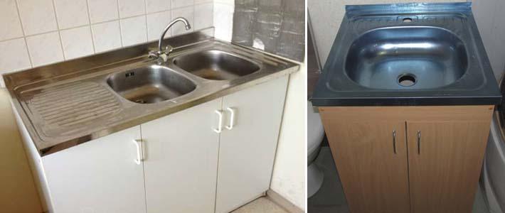 кухонная накладная мойка