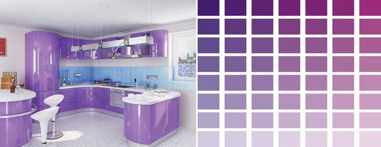оттенки фиолетового цвета