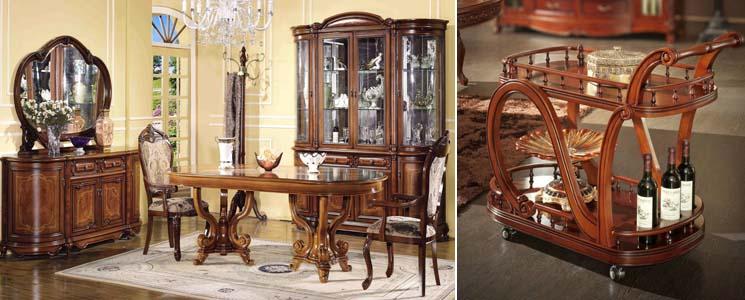 столы в столовом гарнитуре