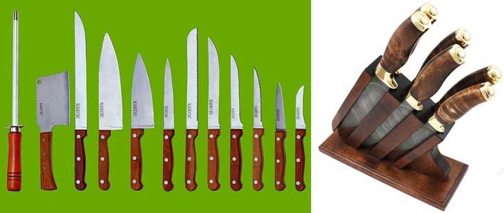 виды кухонных ножей