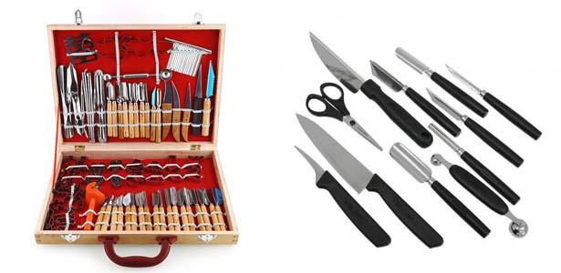наборы ножей для карвинга