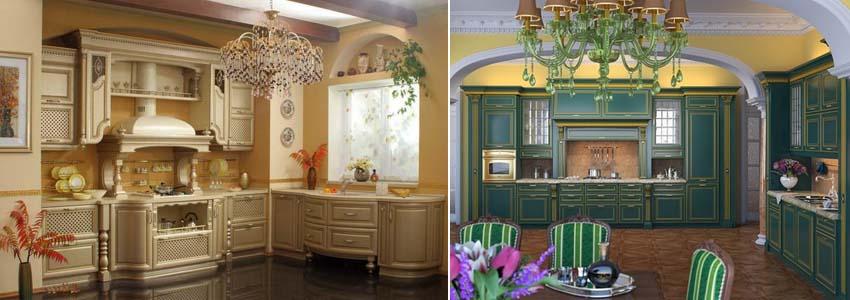викторианский стиль на кухне