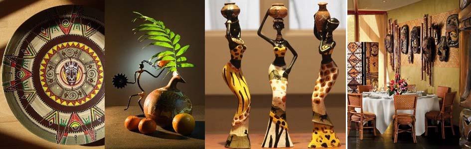 декор кухни в африканском стиле
