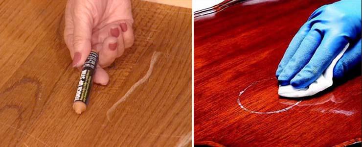 как удалить пятна с мебели