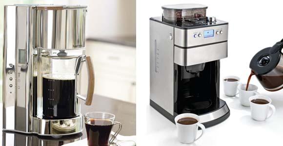 типы кофеварок - капельные кофеварки