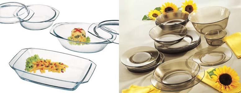 стеклянная кухонная посуда