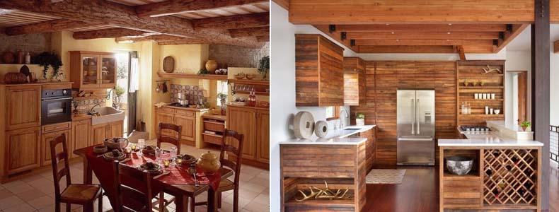 стиль бунгало на кухне