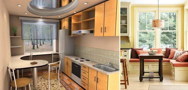 использование кухонного подоконника