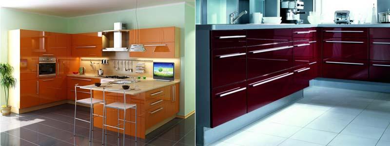 акриловые кухонные фасады