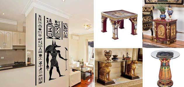 египетский стиль в интерьере кухни